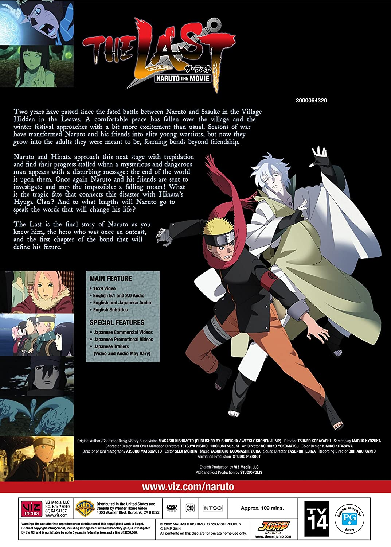 Amazon.com: The Last: Naruto the Movie: LAST: NARUTO THE ...