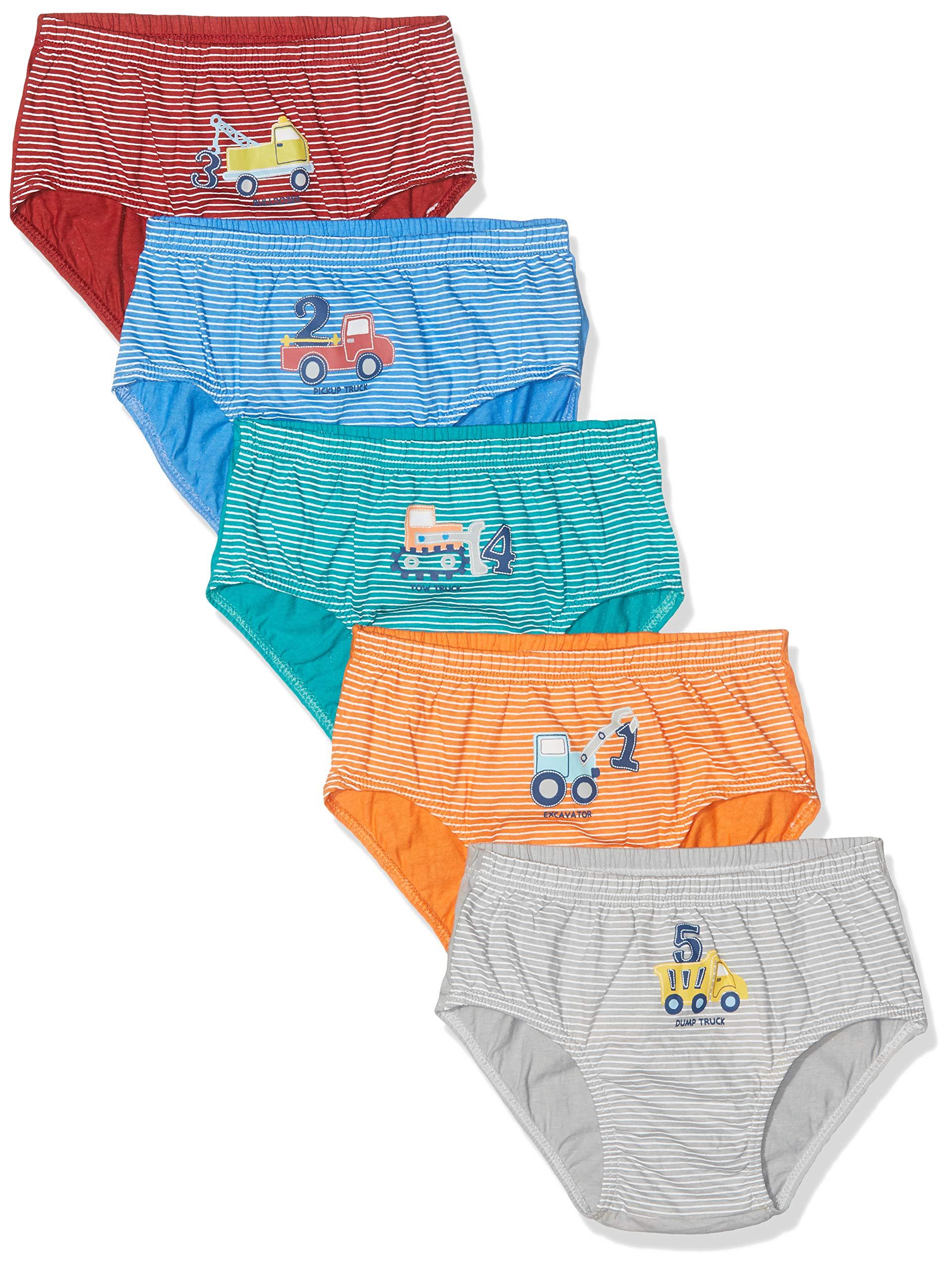 12 Pack Boys 100/% Cotton Plain Briefs Kids Underwear