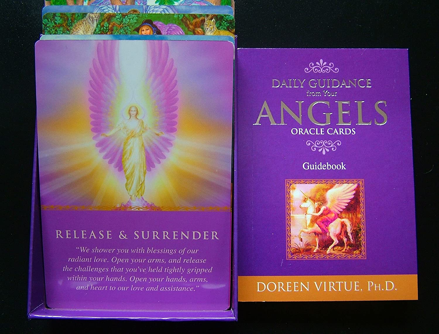Daily Guidance from your Angels Oracle Cards - Doreen Virtue - Sold by Spiritual Gifts, Usually dispatched within 2 working days.