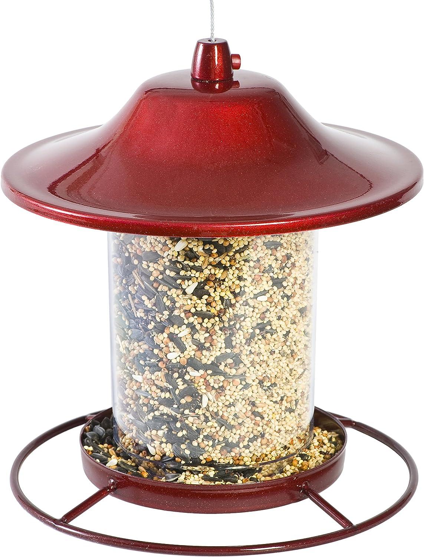 Perky-Pet 312R Red Sparkle Panorama Bird Feeder