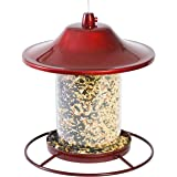 Perky-Pet 312R Red Sparkle Panorama Bird Feeder