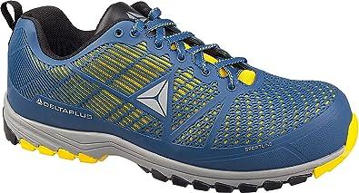 Delta Plus Delta Sport Blau Gelb Metall freie Composite Zehenkappe Sicherheit Sport Schuhe