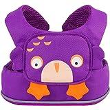 Trunki ToddlePak - Fuss Free Toddler Walking Reins & Kids Safety Harness – Ollie Owl (Purple)