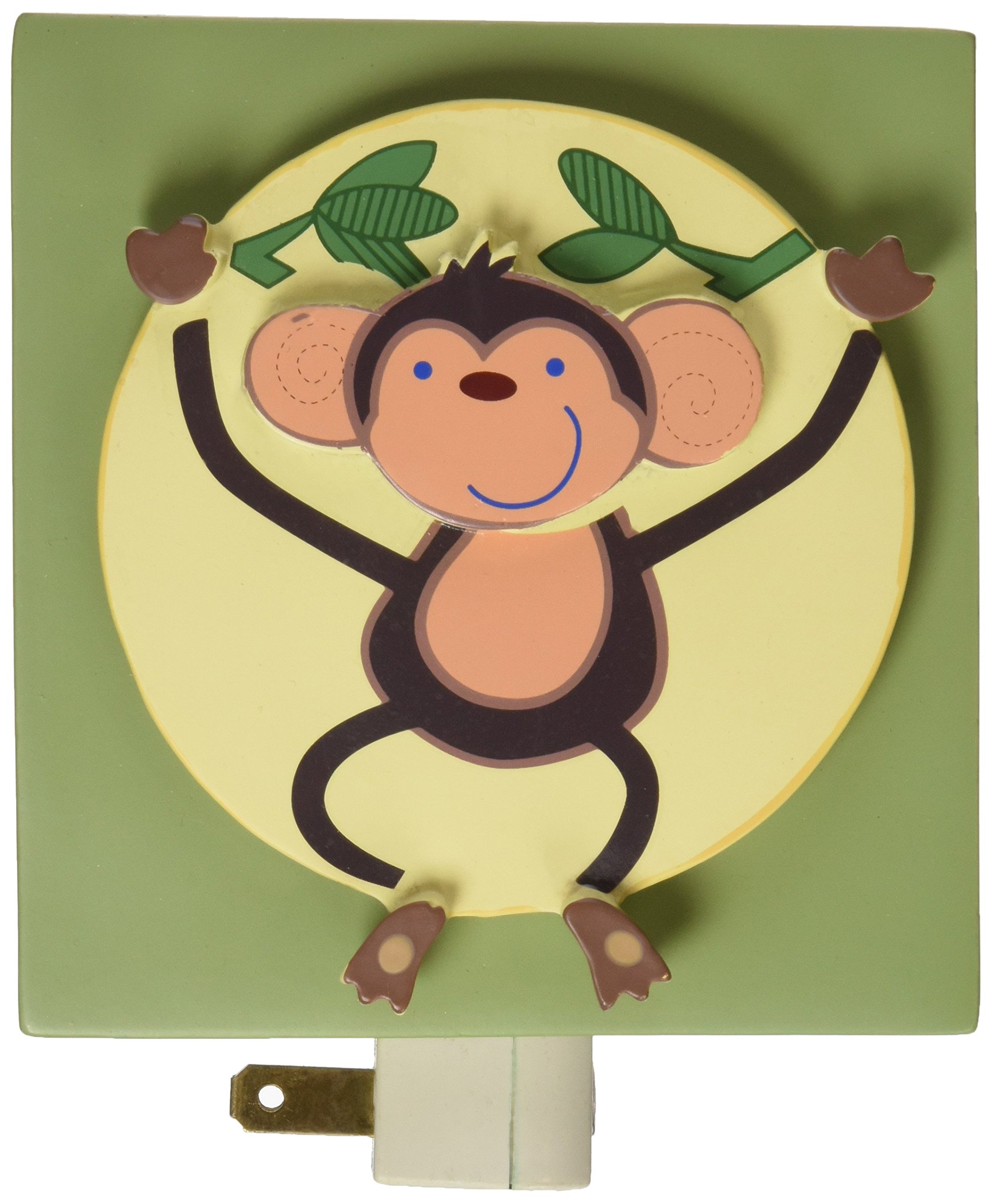 Amazon Com Nojo Jungle Babies Switch Plate Cover