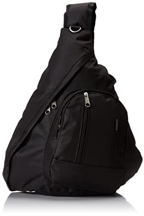 Amazon.com | Everest Sling Bag, Black, One Size | Luggage & Travel ...