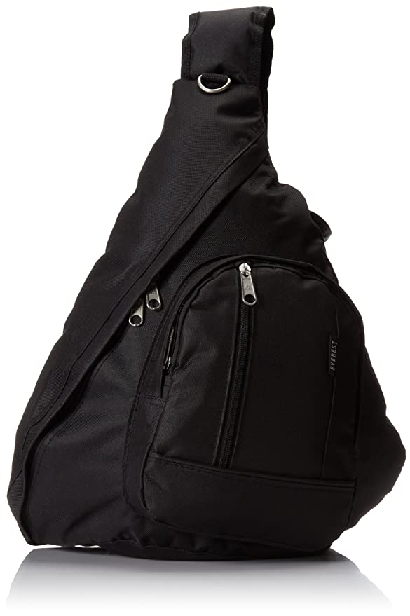Amazon.com | Everest Sling Bag, Black, One Size | Casual Daypacks