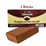 Plantonix Coco Coir Brick/Block, OMRI listed for Organic Use (2 Bricks)