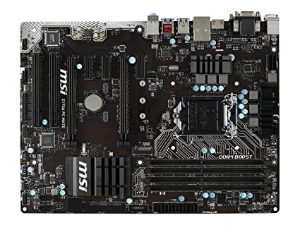 amazon com msi pro solution intel z170a lga 1151 ddr4 usb 3 1 atx rh amazon com msi motherboard user manual pdf msi n1996 motherboard user manual pdf