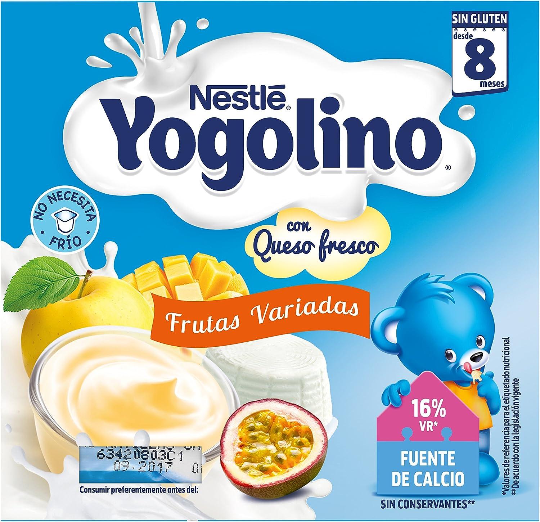 Nestlé Yogolino Petit Postre Lácteo con Frutas Variadas a ...