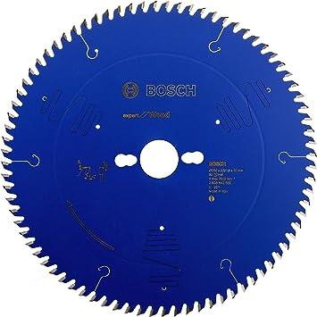 Bosch Professional  Kreiss/ägeblatt Expert for Wood zum S/ägen in Holz f/ür Tischkreiss/ägen /Ø 250 mm