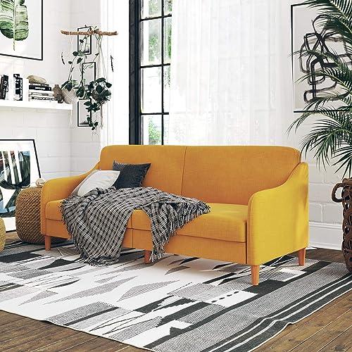 Handy Living Belmont Transitional Arm Chair, Gray Hullabaloo Stone Design