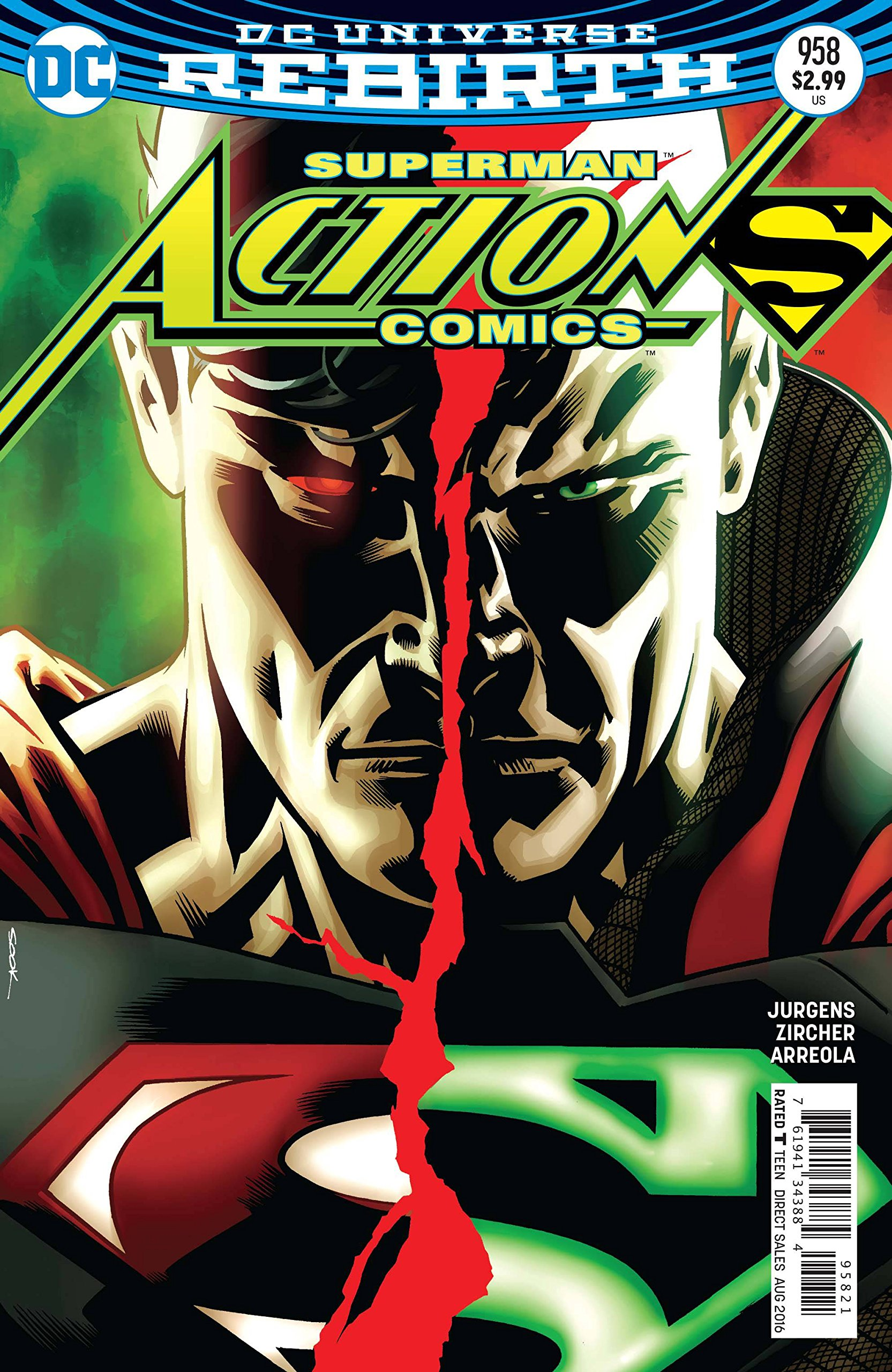 Action Comics #958 Variant Edition PDF