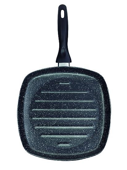 Jata Hogar GEA28 Tambora Grill, Acero, Negro, 28 cm: Amazon.es: Hogar