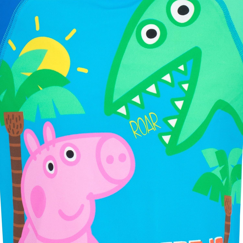 Peppa Pig Ba/ñador de dos piezas para ni/ño George Pig