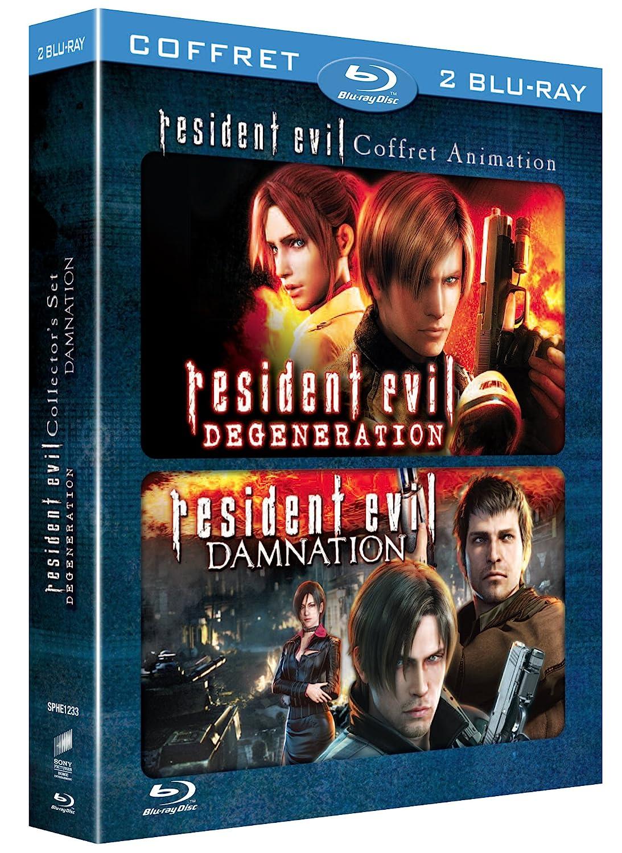 Resident Evil : Damnation + Resident Evil : Degeneration Francia ...
