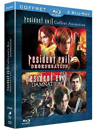 Resident Evil : Damnation + Resident Evil : Degeneration Francia Blu-ray: Amazon.es: Makoto Kamiya: Cine y Series TV