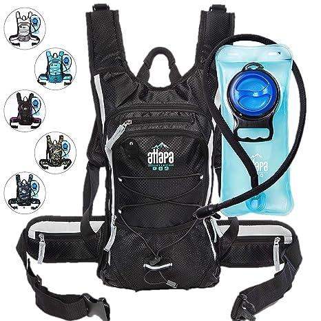 1e071e632351 Atlapa Sports Lightweight Hydration Water Backpack 2L TPU Leak Proof Water  Bladder Insulated Pocket Keeps Liquids