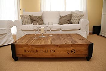 Uncle Joe's Chest coffee table chest Vintage Shabby Chic Country