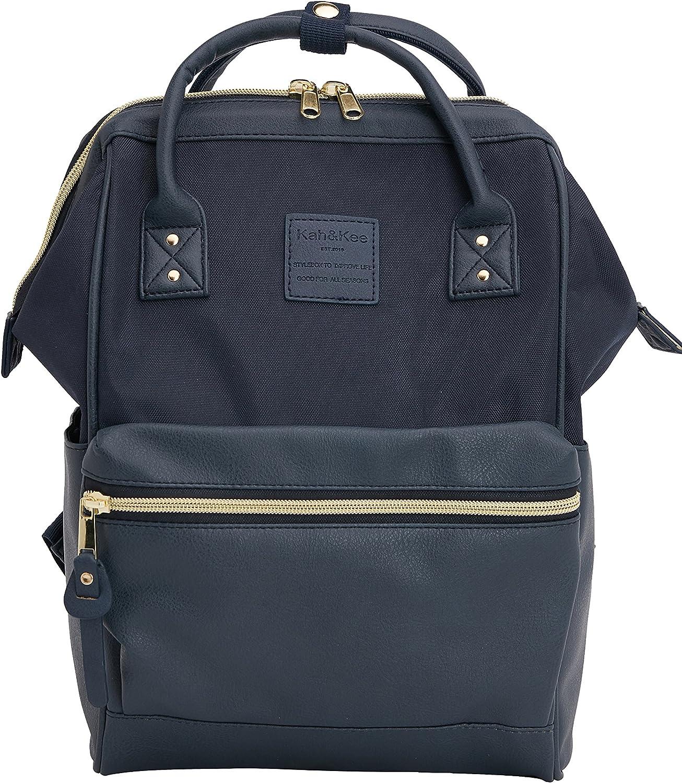 Kah Kee Reiserucksack Schule Casual Daypack Splice Bag Für Damen Herren Klein Bekleidung