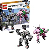 LEGO Overwatch D.Va & Reinhardt 75973 Building Kit (455 Piece)
