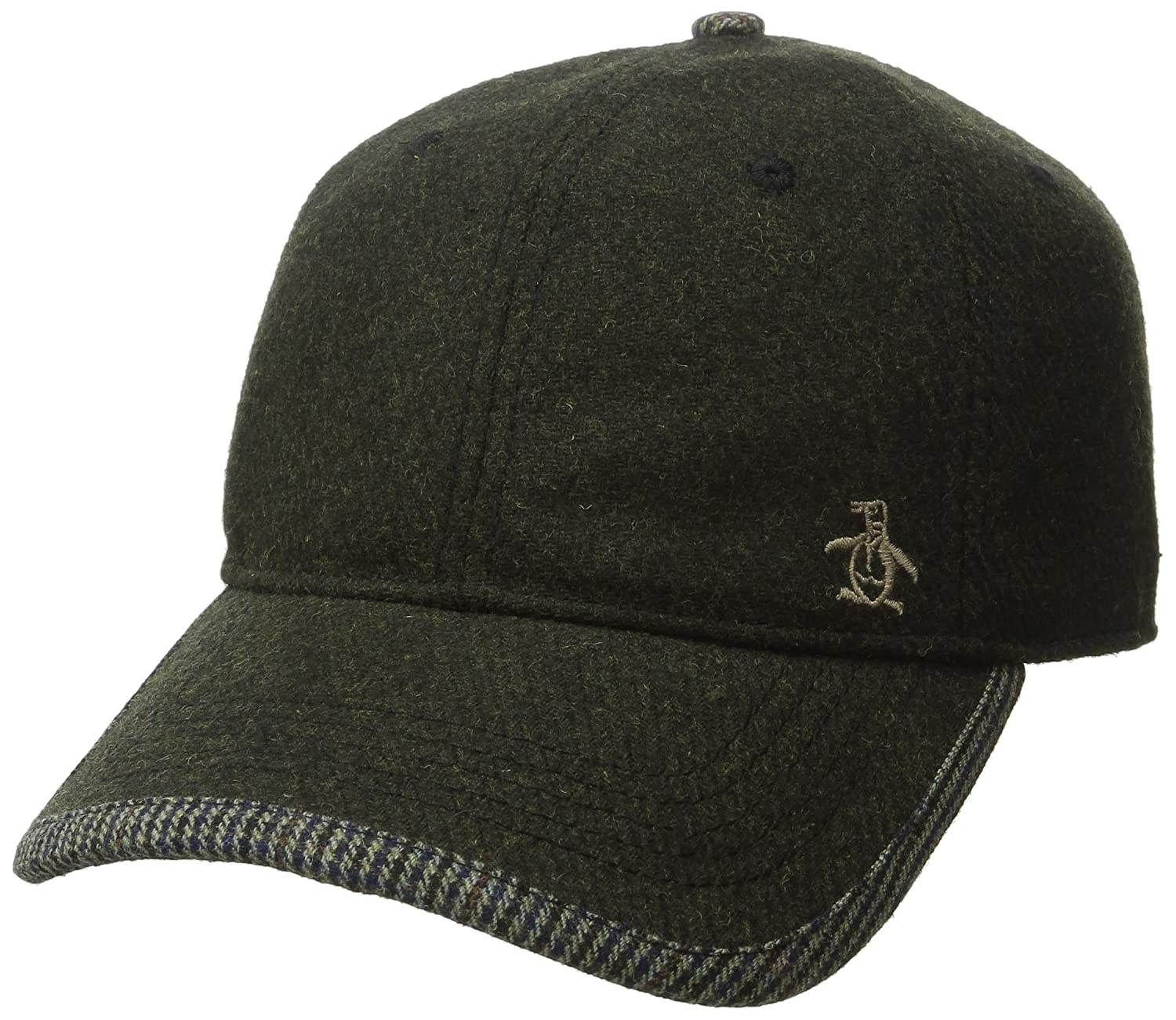 Amazon.com: Original Penguin Mens Woolen Baseball Cap, Dusty Olive, One Size: Clothing