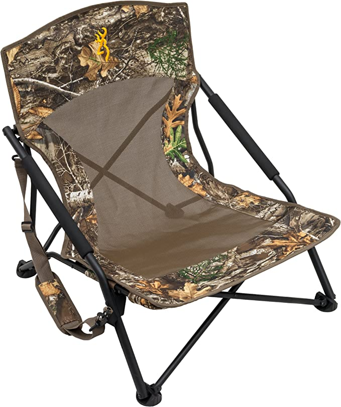 Best Hunting Blind Chair: Browning Camping Strutter Hunting Chair