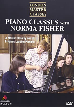 Amazon com: London Master Classes: Piano Classes With Norma Fisher