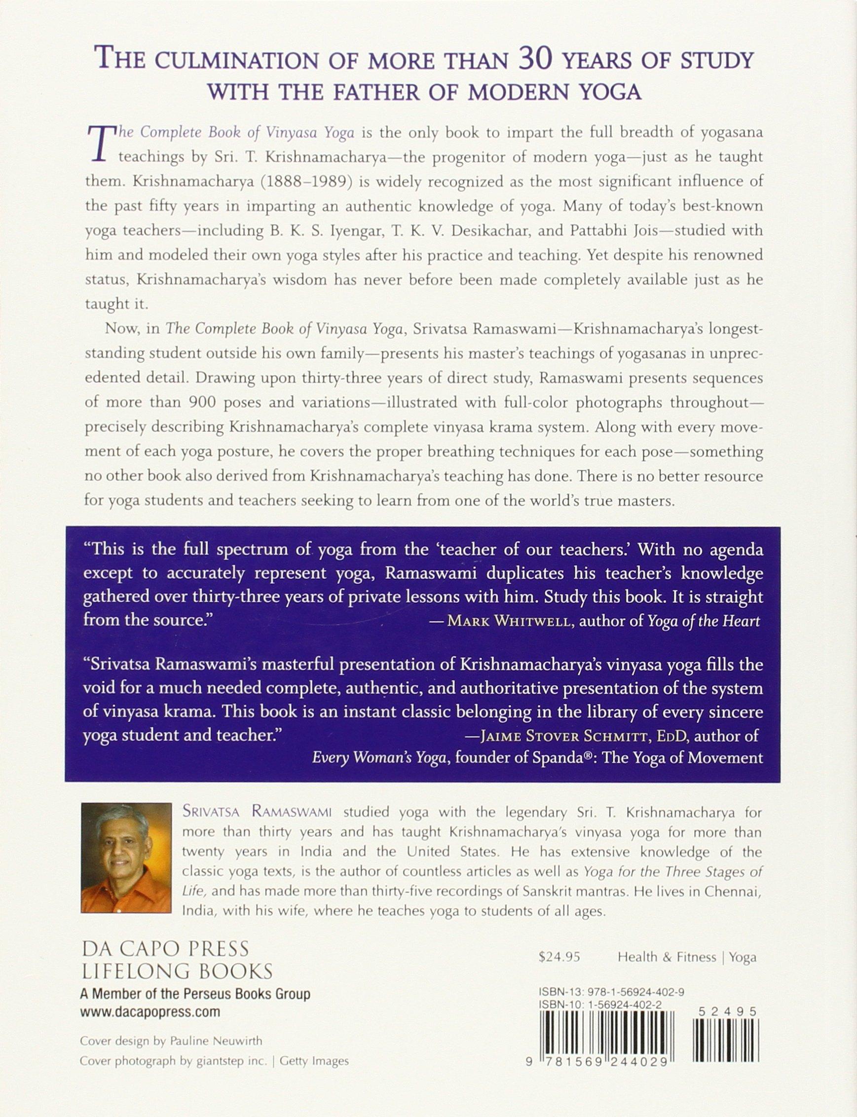 The Complete Book of Vinyasa Yoga: The Authoritative ...
