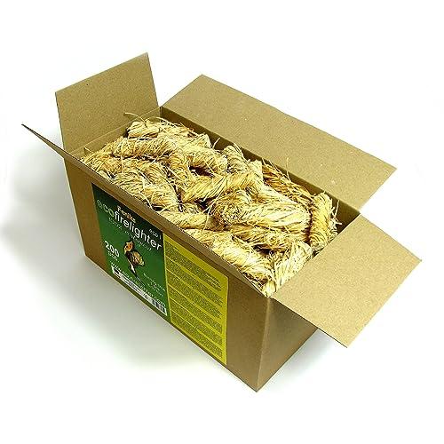 Laines feniks 200pcs. dans la boîte, pour cheminée, Poêle, barbecue et feu de camp