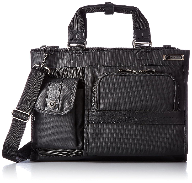 [バジェックス] ビジネストートバッグ ヴィグラスシリーズ A4ファイル収納可 撥水加工 B01LLM51AE ブラック