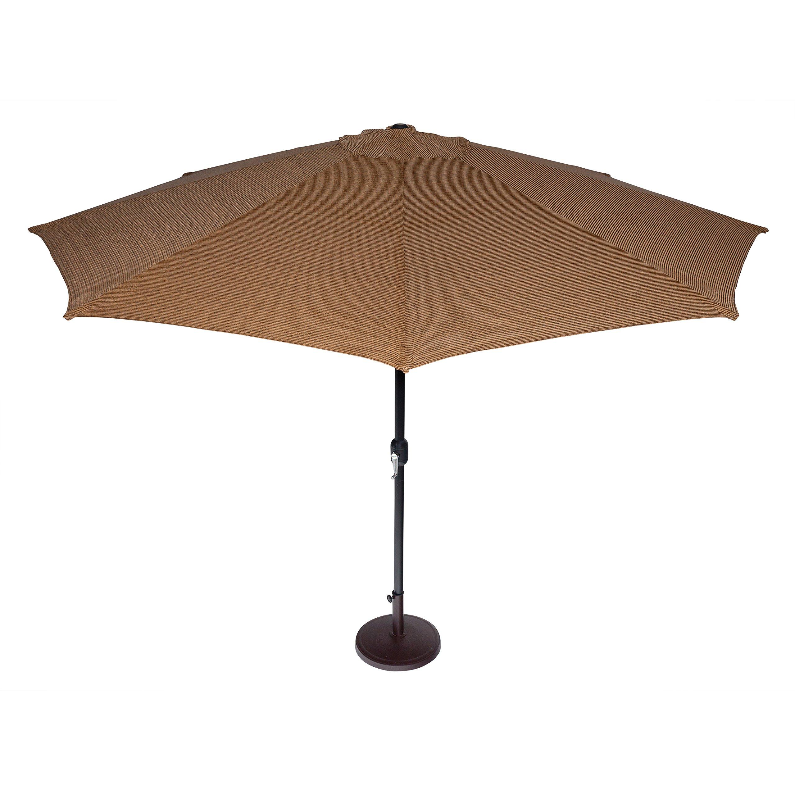 Coolaroo Market Umbrella 11-Feet Mocha