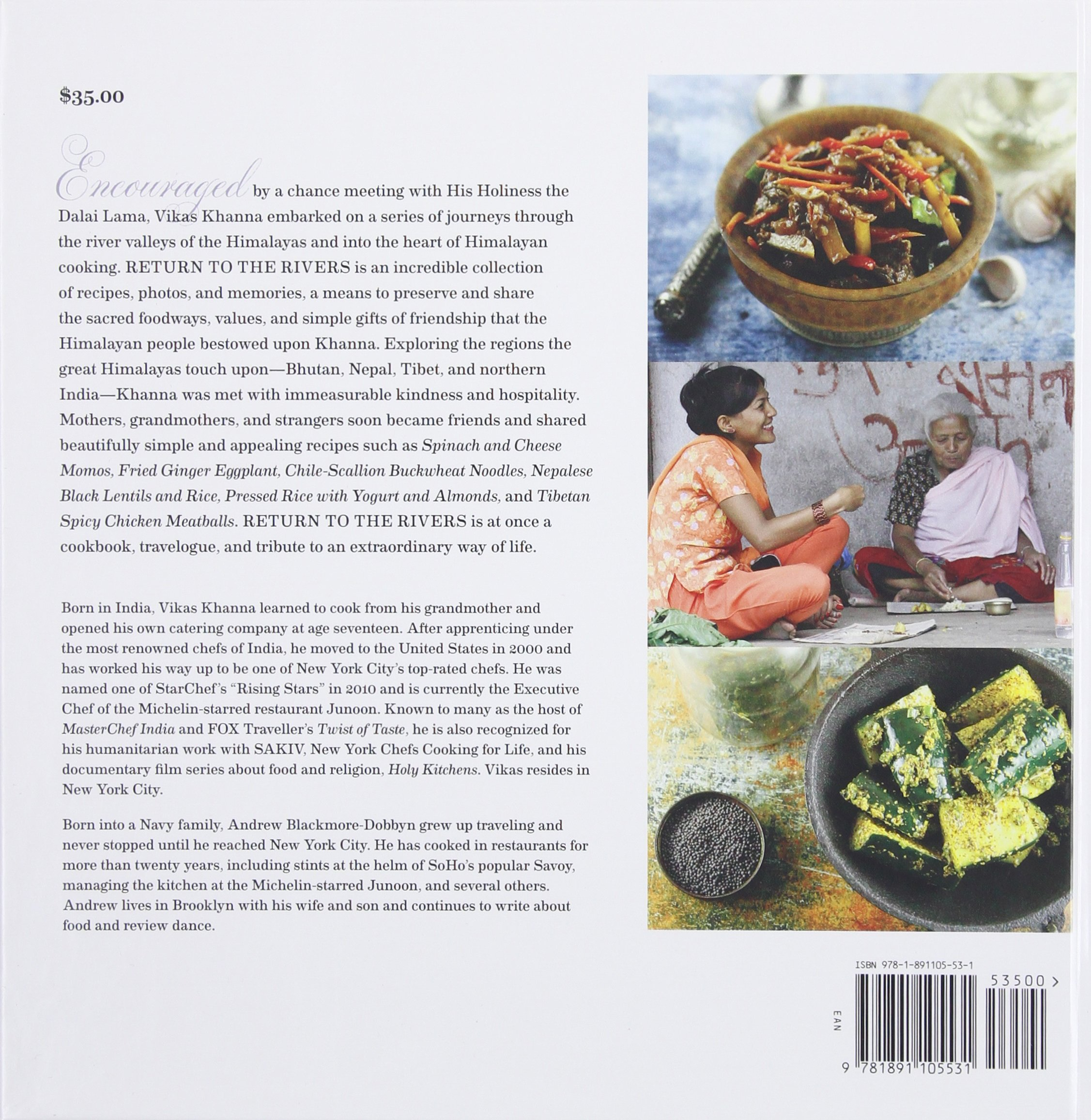 Return to the Rivers: Recipes and Memories of the Himalayan River ...