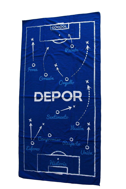 Real Club Deportivo de La Coru/ña Lladep Llavero Azul//Blanco Talla /Única