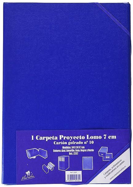 Mariola 22071 - Caja proyectos armada cartón con gomas L70 mm ...