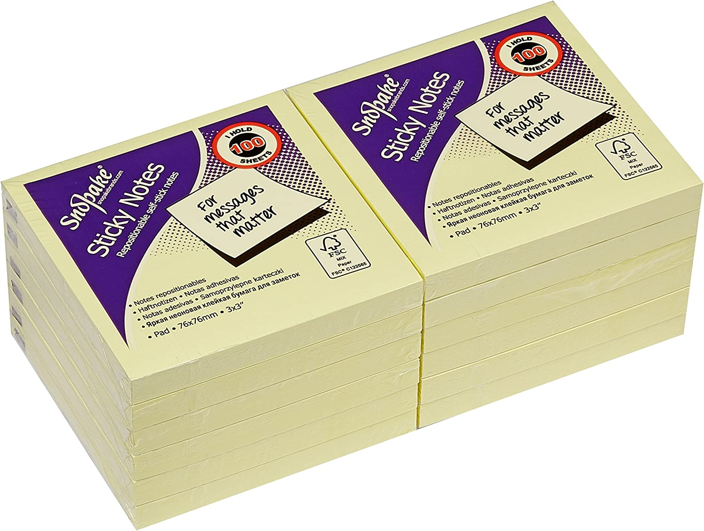 12 unidades Dequa 41102 Tacos de notas adhesivas