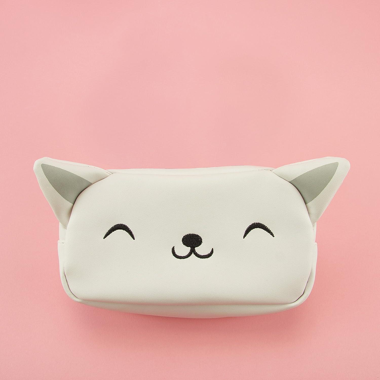Amazon.com: Kitty con forma de gato bolsa de cosméticos ...