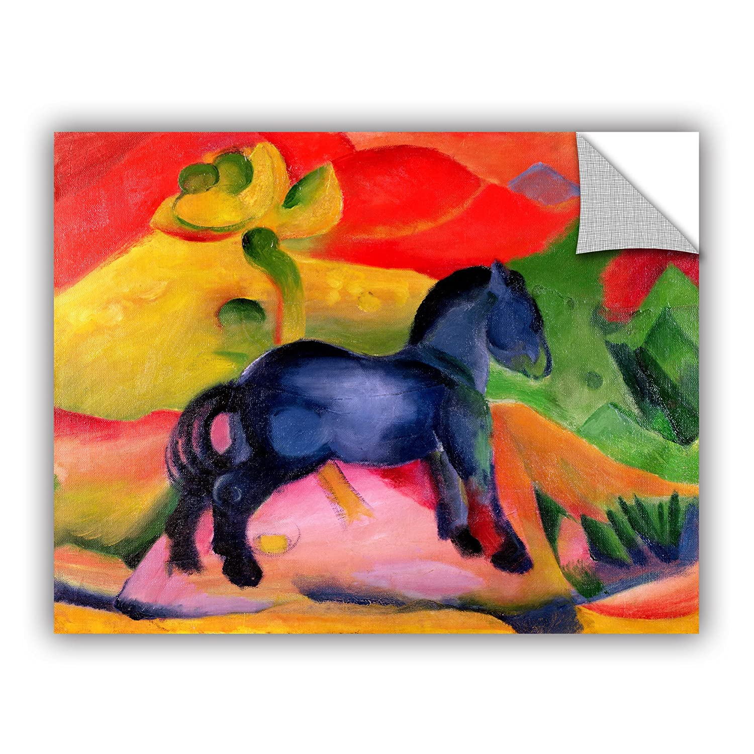ArtWall Franz Marcs The Birth of The Horse Art Appeelz Removable Wall Art Graphic 24 x 32
