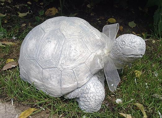 Tortuga estatua escultura tortuga adorno para casa o jardín para regalo de Navidad: Amazon.es: Jardín