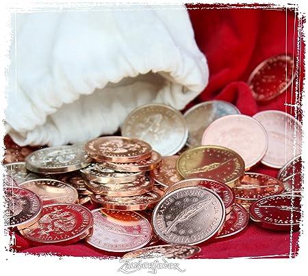 Larp Münzset Adliger 50 Münzen Im Beutel Amazonde Spielzeug