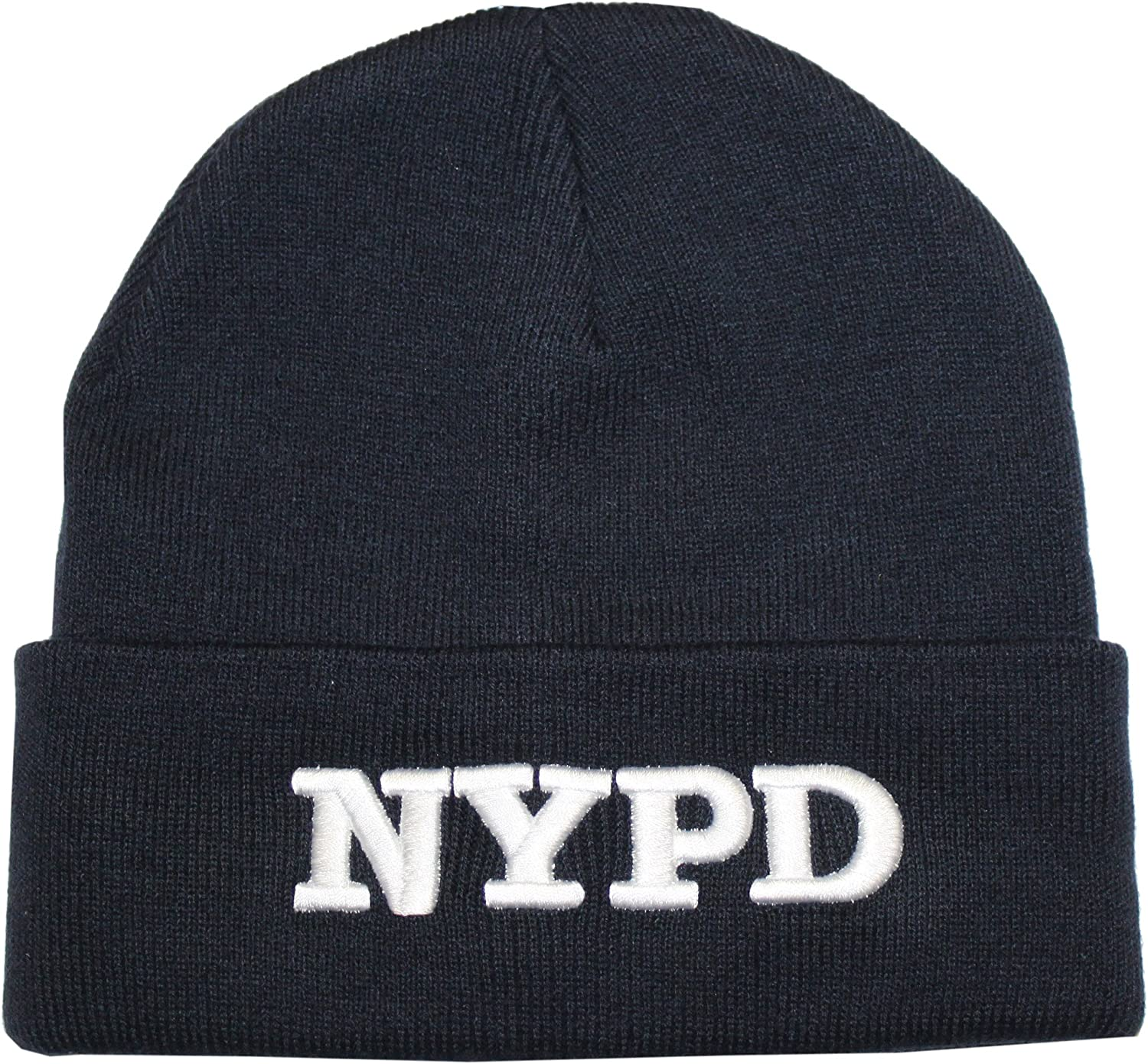 NYPD Winter Hat Police Badge New York Police Department Black /& Gold One Size