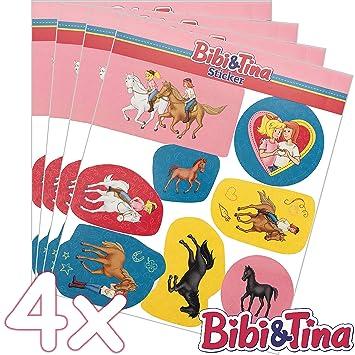 32 Teiliges Sticker Set Bibi Tina Als Mitgebsel Als