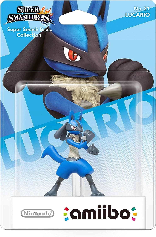 Nintendo - Figura Amiibo Smash Lucario: Amazon.es: Videojuegos