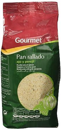 Gourmet Pan Rallado Ajo y Perejil 250g