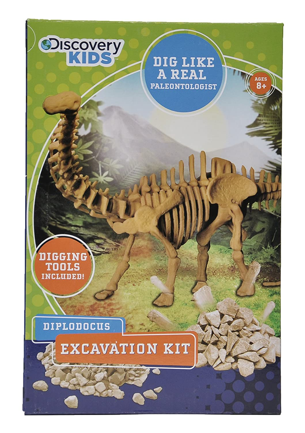 Discovery Kids Dinosaur Excavation Kit - Diplodocus