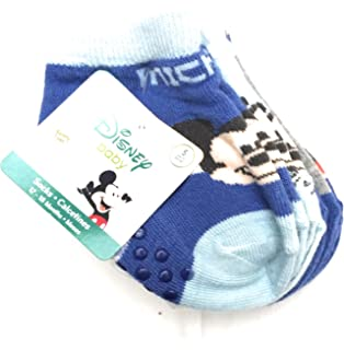 Disney Baby Mickey Mouse boys 5 pr socks, 12-18 mo