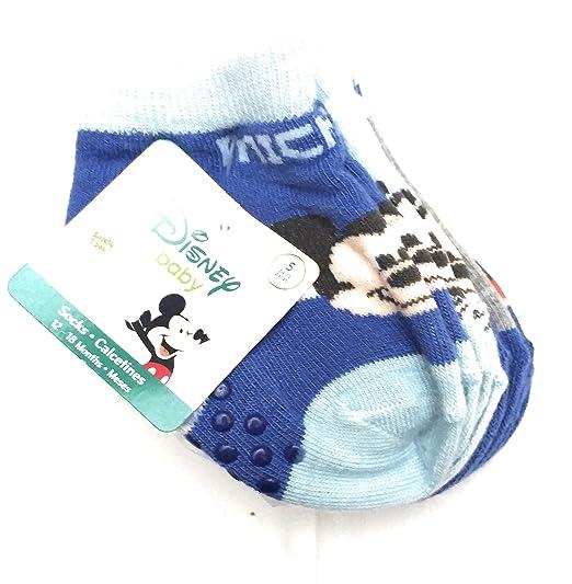 Disney Baby Mickey Mouse boys 5 pr socks, 12-18 mo