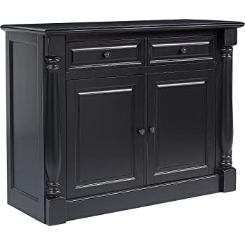 Crosley Furniture CF4206 BK Shelby Dining Room Buffet, Black
