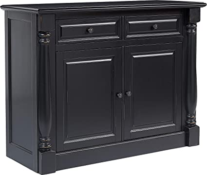 Crosley Furniture CF4206 BK Shelby Dining Room Buffet Black
