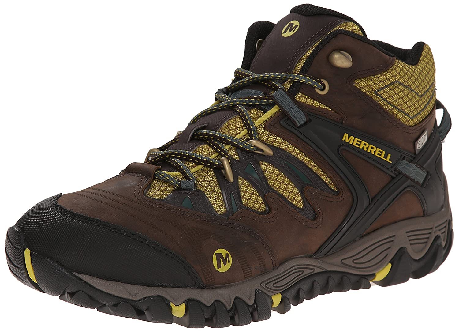 Merrell Men's All Out Blaze 2 Mid Waterproof Hiking Shoes Black