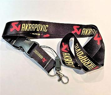 Akrapovic - Llavero con cordón para Cuello KTM, 50 cm x 2,5 ...